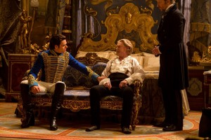 The prince consults his father.